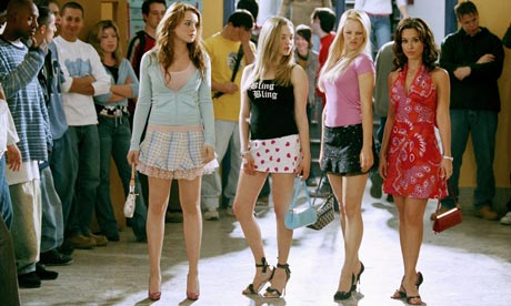 A scene from the film Mean Girls